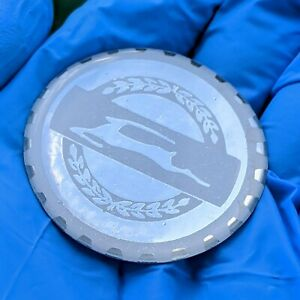 White Chrome Impala Zenith Wire Wheel Chips Emblems Decals Set Of 4 Size 2 25in