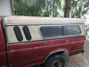 1992 Ford F 250 Truck Continental Long Bed Topper Camper Shell