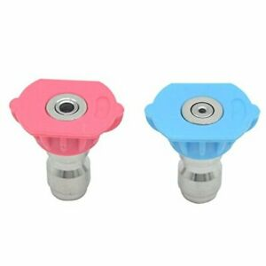 2nd Story Washer Spray Nozzle Tips Quick Pressure Washer Nozzle 4000psi