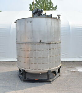5250 Gallon Jacketed Stainless Steel Mix Tank
