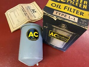 1939 40 41 Buick 1939 40 Cadillac V16 Accessory Oil Filter Canister Ac L 1 Nos