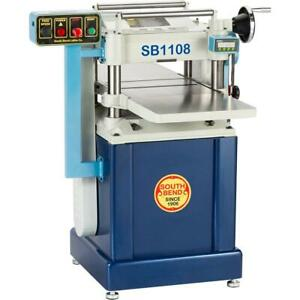 South Bend Sb1108 15 Planer With Helical Cutterhead