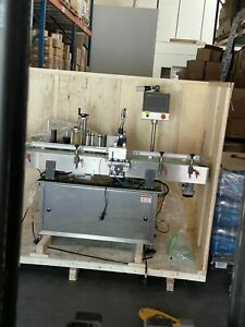Automatic Bottle Labeling Machine Built in 2021