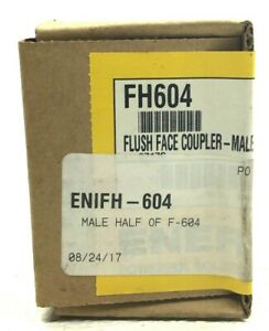 Sealed Enerpac Fh604 Flush Face Coupler male Half Of F 604