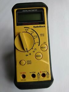 Radio Shack Digital Multimeter 22 801 With Cables Vg Condition