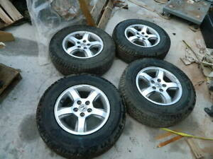 Honda 5 Lugs Wheels And Tires 16 Inch 16 235 70 R16 With Great Michelin Tires
