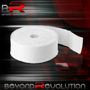 360 30ft Exhaust Catback Muffler System Wrap Shield Cover Insulation Reduction