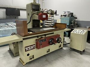 Kent Kgs 410ahd 40x16 Surface Grinder 1991 With Leap Filter System 3 axis Auto