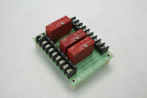 Potter Brumbfield 2i0 4b Solid State Relay Module With Odc 15 Board 4 channel