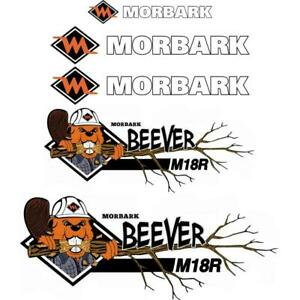 Morbark Beever M18r Decals Aftermarket Repro Decal Sticker Kit Uv Laminated