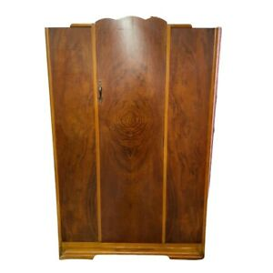 Art Deco Child Armoire Wardrobe Cws Limited Cabinet Factory Tiger Wood Pattern