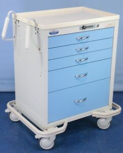 Armstrong Medical Crash Cart With Passcode Medical Supply Cart With Warranty