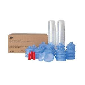 3m Pps Paint Spray Gun Cup Lids And Liners Kit 16312