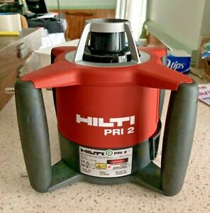 Hilti Pri 2 Rotary Laser Level Rotating Alignment Tool Cabinet Pictures Shelf