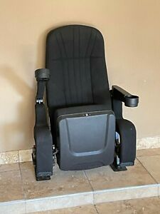 Lot Of 100 up To 3000 Used Black Rocker Movie Theater Seats Chairs Cup Holder