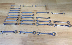 Lot Of 25 Craftsman V Ignition Combination Wrenches Vintage