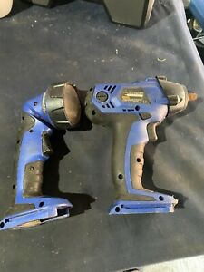 Bluepoint Sold By Snap On 3 8 Impact Wrench Led Torch Tools 14 4v Body Only