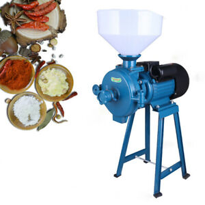 Electric Grinder Mill Grain Corn 1500w Wheat Feed Flour Dry Cereal Machine 110v