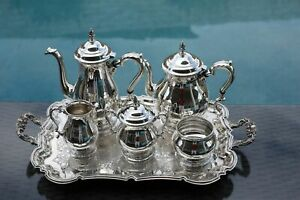 6 Pc Mint Condition Prelude Coffee Tea Set International Sterling Silver