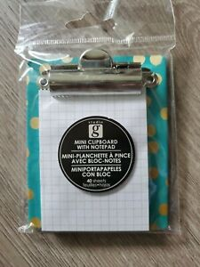 Mini Clipboard With Notepad With Magnet