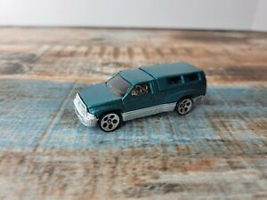 1994 Hot Wheels Green Dodge Ram 1500 Pickup Truck With Topper Free Shipping