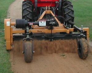 Harley Power Landscape Rake 6 Tractor 3 Point Hitch Mount now In Stock In Fl
