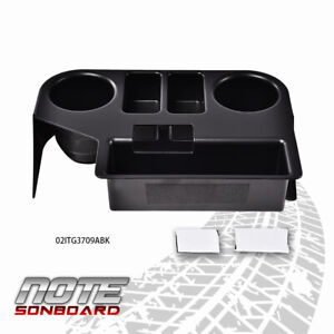 Center Console Cup Holder Fit For 1994 1997 Dodge Ram 1500 2500 3500 Black