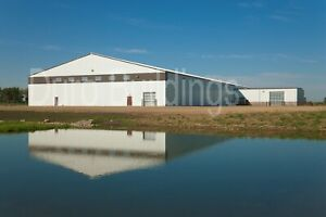 Durobeam Steel 100x100x24 Metal Clear Span I beam Buildings Made To Order Direct