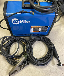 Miller Maxstar 200 Stick Tig Welder With Cables