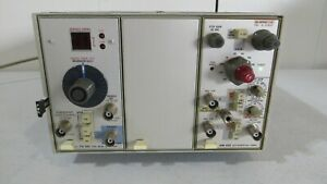 Tektronix Tm503 Power Supply Am502 Differential Amplifier Tg501 Time Mark
