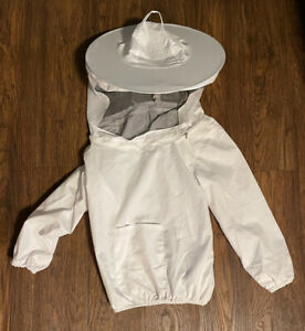 Beekeeping Youth Sized Bee Keeping Suit Jacket Pull Over Smock With Veil