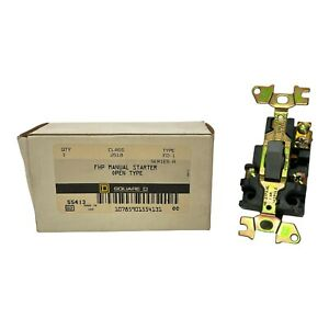 Square D Manual Motor Switch 2510 Fo1 Fhp Series A 55413