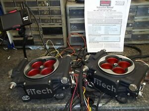Fitech Fuel Injection 30064 Go Efi 2x4 Power Adder System 1200 Hp