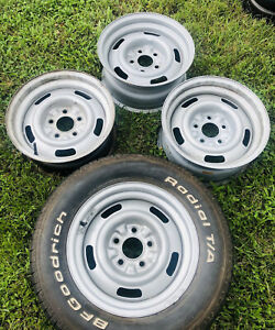 1969 Camaro Z 28 Copo Yh Coded Original Gm Rally Wheels Dated Early 69