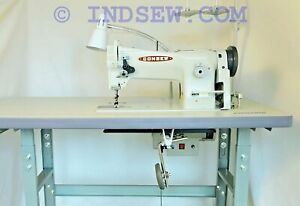 Consew 206rb 5 Walking Foot Upholstery Machine W table Motor table Comes