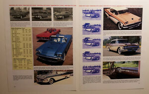 1958 Ford Fairlane Tbird Skyliner Retractable Ranchero Article Must See