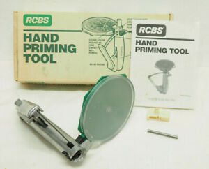 Vintage RCBS Hand Priming Tool Large and Small Primers With Box 90200 $55.99