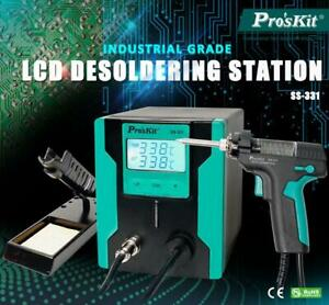 Newest Ss 331h Lcd Electric Desoldering Gun Anti static High Power Strong 220v