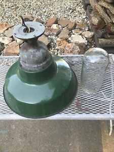Crouse Hinds 16 Porcelain Light With Globe Explosion Proof