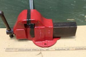 Vintage Columbian Vise No 505 Bench Vise 5 Jaws Great Condition