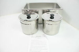 Sybo Zck165bt 4 Commercial Grade Stainless Steel Bain Marie Buffet Food Warmer