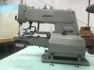 Juki Mb 373 Chainstitch Button Sewing Machine With New 110 Volts Motor Works