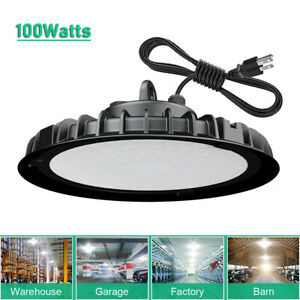 100w Led Ufo High Bay Light Commercial Industrial Factory Warehouse Shop Light