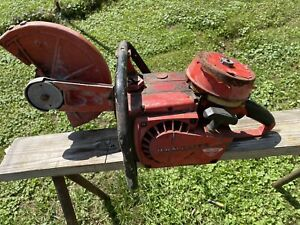 Homelite Xl 98 Concrete Cut Off Saw For Parts Non Working