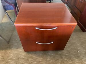 2dr 30 l Lateral File Cabinet In Cherry Laminate