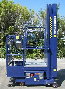 2018 Ballymore Ps 150l Manlift Aerial Boom Personnel Platform Lift 14 8 Height