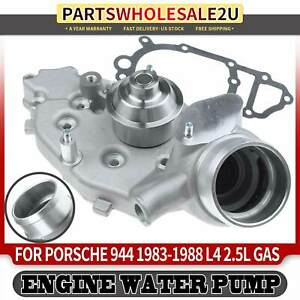 Engine Water Pump With Gasket For Porsche 944 1983 88 L4 2 5l Petrol 944106921x