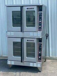 Garland Double Stack Natural Gas Commercial Convection Ovens Mco gs 10s video