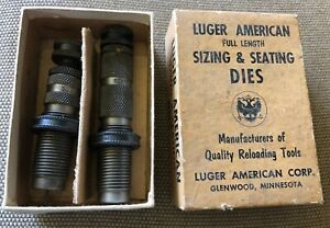 Rare LUGER AMERICAN 2 Die Reloading Set for .30 30 Winchester $29.99