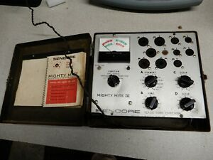 Sencore Mighty Mite Iv Vacuum Tube Tester Work Well But Not Completely Tested
